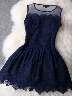 2017 Homecoming Dress Sexy Dark Navy Lace Short Prom Dress Party Dress JK245