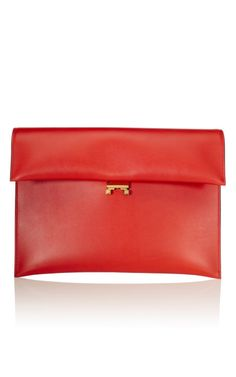 Marni clutch. New for fall.