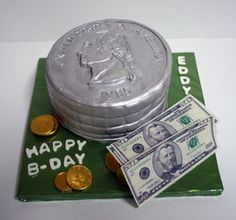 Money Cake (2D & 3D Cakes - Sweets By Selina)
