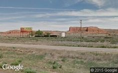 Looking north at Wingate from Route 66 in  NM