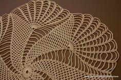 Crochet Doily New Hand Crochet Doily Round Doily Crochet