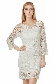 Vestido de verano tendencias de la moda de por LecrochetArt en Etsy, $430.00