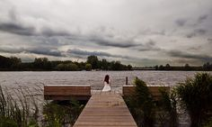 My siren, sitting by the lake... by Noukka Signe, via Flickr