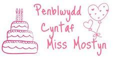Miss Mostyns First Birthday!