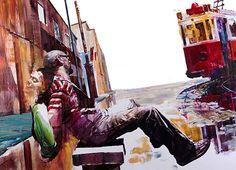 Σουρεαλιστικά και αφηρημένα έργα Τέχνης από το ζωγράφο Dan Voinea!