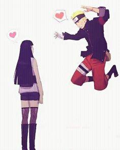 Naruto and Hinata Anime Naruto, Kakashi Sensei, Naruto Shippuden Sasuke, Sarada Uchiha, Hinata Hyuga, Naruto Art, Naruto And Sasuke, Uzumaki Family, Naruto Family