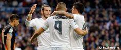 10-2: El Real Madrid golea con un póker de Bale
