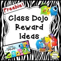 Browse class dojo rewards resources on Teachers Pay Teachers, a marketplace trusted by millions of teachers for original educational resources. Class Dojo Rewards, Classroom Rewards, Classroom Behavior Management, Student Behavior, Classroom Organisation, Classroom Rules, Class Management, Google Classroom, School Dojo