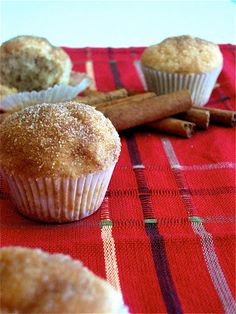 A Cozy Bee: Snickerdoodle Mini Muffins