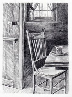 pencil drawing cards by Jana Botkin