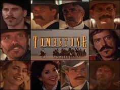 Love this movie. Wyatt Earp Tombstone, Tombstone Movie Quotes, Tombstone 1993, Val Kilmer Doc Holliday, It Movie Cast, It Cast, Doc Holliday Tombstone, Stephen Lang