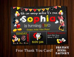 99 Best Mickey Mouse Invitations Images Mickey Mouse Invitation