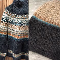 Fair Isle Knitting Patterns, Knitting Stitches, Knitting Designs, Icelandic Sweaters, Nordic Sweater, Holiday Sweater, Needle And Thread, Knit Crochet, Mittens