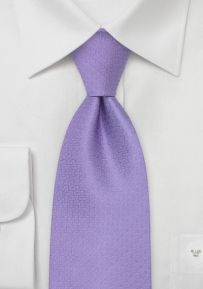 Lavender Chevalier Designer Tie