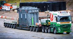 Faymonville is a leading manufacturer of special trailers and semi-trailers for the special transport industry. Faymonville builds customized special trailers for every need of special transportation outside the usual norm Train Truck, Road Train, Heavy Duty Trucks, Heavy Truck, Semi Trailer, Volvo Trucks, Heavy Equipment, Transportation, Kansas City