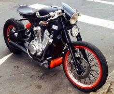 suzuki intruder 800 cafe racer