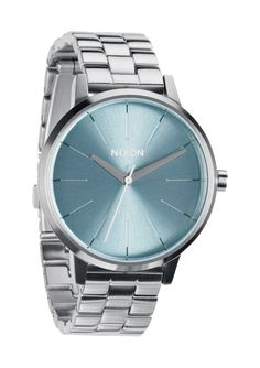 Nixon: The Kensington Women's Watch in Peppermint | From Elena Hight's 2012 Nixon Holiday Gift Guide