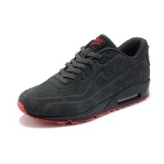 Nike Air Max 90 VT Suede Men's Running Shoes Charcoal