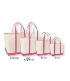 Monogrammed L.L.Bean Large Tote - most useful baby gift I received... it's her weekend/beach/everything bag.