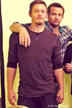 Norman Reedus <3 and Sean Flanery