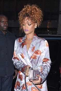 WHO: Rihanna WHERE: On the street, New York City WHEN: August 30, 2015
