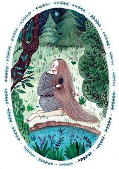 Just beautiful; weaving a woman's magic. Mihaela Paraschivu