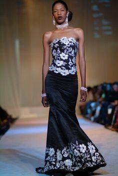 Iridescent detailing and elegant silhouette