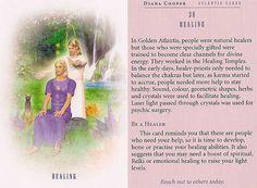 31  ocotmbrie 2016 -Today's Atlantis Card _ Healing ! (  iar mesajul asta !  cred ca se  refera la  vindecarea  emotionala  a  dezamagirilor mele....)