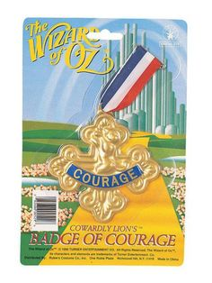 Check out Badge of Courage - Wholesale Costume Accessories from Wholesale Halloween Costumes