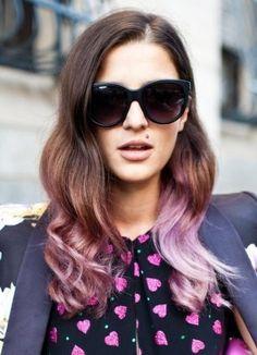 Цветные кончики волос (41 фото) у девушки: красные, синие, розовые, голубые, бирюзовые, рыжие, черные, видео-инструкция по окрашиванию своими руками, мелирование, колорирование, фото и цена