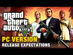 "Grand Theft Auto V PC version release date expectations and in-depth analysis of all the past GTA and Rockstar's PC releases.    Follow our GTA V Show for more news and updates:  http://www.youtube.com/show/gtafive    ===================================    Audio file(s) provided by http://www.audiomicro.com  - ""Angry John"" by Wallen Prod    ==============..."