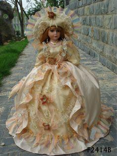 Beautiful cute girl model porcelain doll
