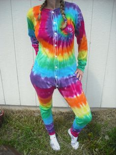 Tie dye long underwearunisex by DoYouDreamOutLoud on Etsy, $39.95**** This shall be mine !!!!