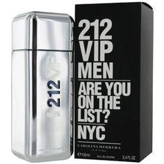 Perfume Carolina herrera 212 V.I.P. hombre 100ml