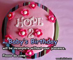 2nd #Birthday #Invitation for #girls!!!!!!!