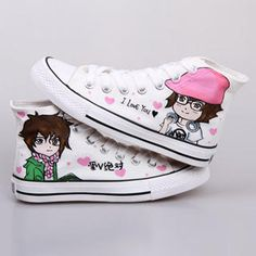 Buy 'HVBAO – High-Top Painted Canvas Sneakers' at YesStyle.com plus more China items and get Free International Shipping on qualifying orders.