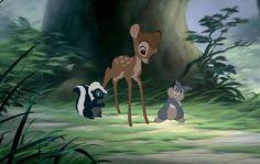 Bambi est diponible en DVD et Blu-Ray. © Disney.  #Bambi