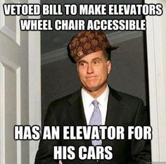 I'm not expert but aren't elevators already wheel chair accessible?....and I'm pretty sure he has an elevator TO his cars...whose the idiot that wrote this?!