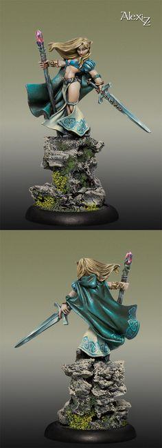 Alastria, Elf Sorceress (Reaper)