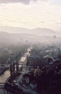 Fog over Sarajevo, Bosnia & Herzegovia