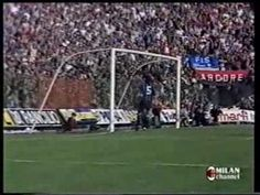 1984-85 7a G Milan - Inter 2-1 Servizio RAI DS #milan #calcio #sport #video #derby #milano