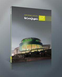 El Corte Inglés | Annual Report by Leandro Marinelli, via Behance - color block