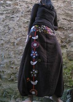 jpg Source by christinekellne The post my sarouels & Parfumduciel appeared first on wedding. Fashion Sewing, Crochet Fashion, Skirt Pants, Harem Pants, Mode Crochet, Sassy Pants, Leggings, High Waisted Skirt, Sequin Skirt