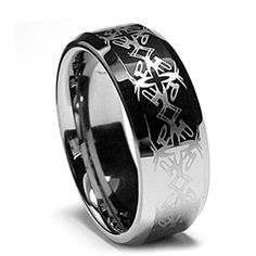 Tungsten Ring Direct - Tungsten Ring for Men, High Fashion with Cool Engraving, Bevel Edge, 8MM, $24.99 (http://www.tungstenringdirect.com/tungsten-ring-for-men-high-fashion-with-cool-engraving-bevel-edge-8mm/)