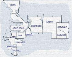 York-Crosstown Map