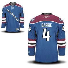 Colorado Avalanche 4 Tyson Barrie Third Jersey - Blue [Colorado Avalanche Hockey Jerseys 040] - $50.95 : Cheap Hockey Jerseys