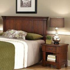 Home Styles Aspen Rustic Cherry Full/Queen Bedroom Set 5520-5015
