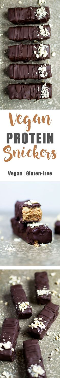 Vegan Protein Snickers - Video - UK Health Blog - Nadia's Healthy Kitchen
