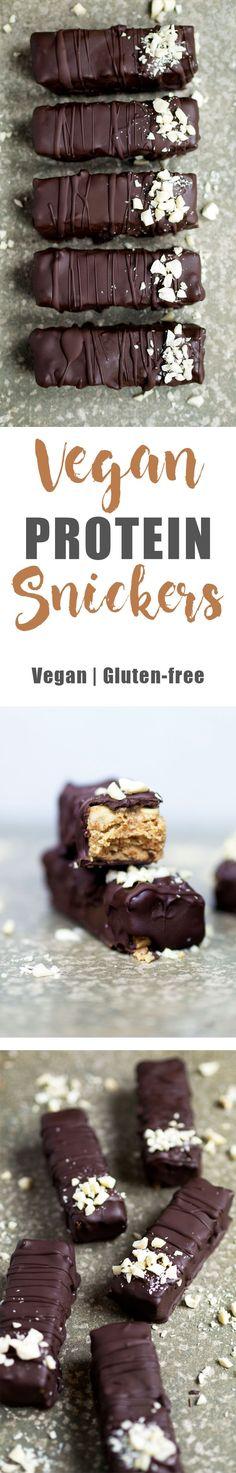 Vegan Protein Snickers - Video - UK Health Blog - Nadia's Healthy Kitchen