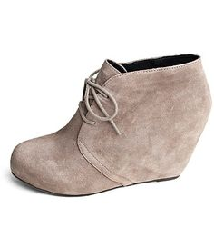 DV Pascal Suede Wedge Bootie
